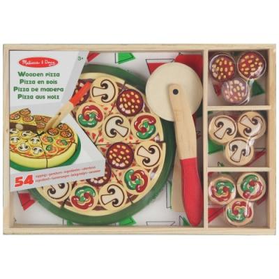木製扮家家酒學習玩具系列-派對比薩