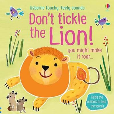 Don t Tickle The Lion! 別對獅子搔癢!觸摸音效書