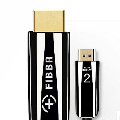 FIBBR Pure 2.0 真4k 鋼琴漆合金材質1.5米HDMI