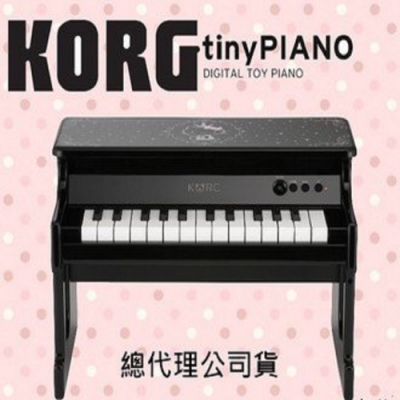 KORG Tiny Piano 迷你25鑑電鋼琴/黑色/Hello Kitty造型款