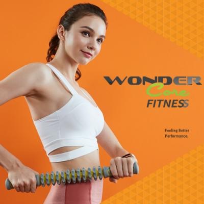 Wonder Core 筋膜滾輪棒(灰x綠)
