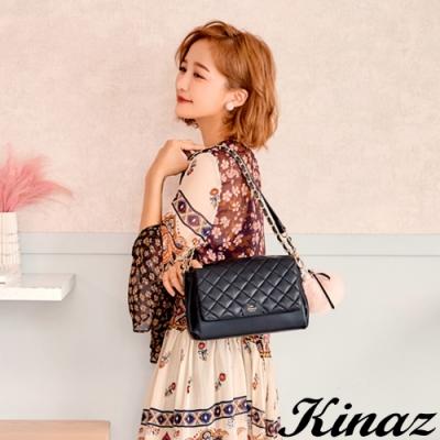 KINAZ 甜美氣息兩用鏈帶斜背包-露比系列-快