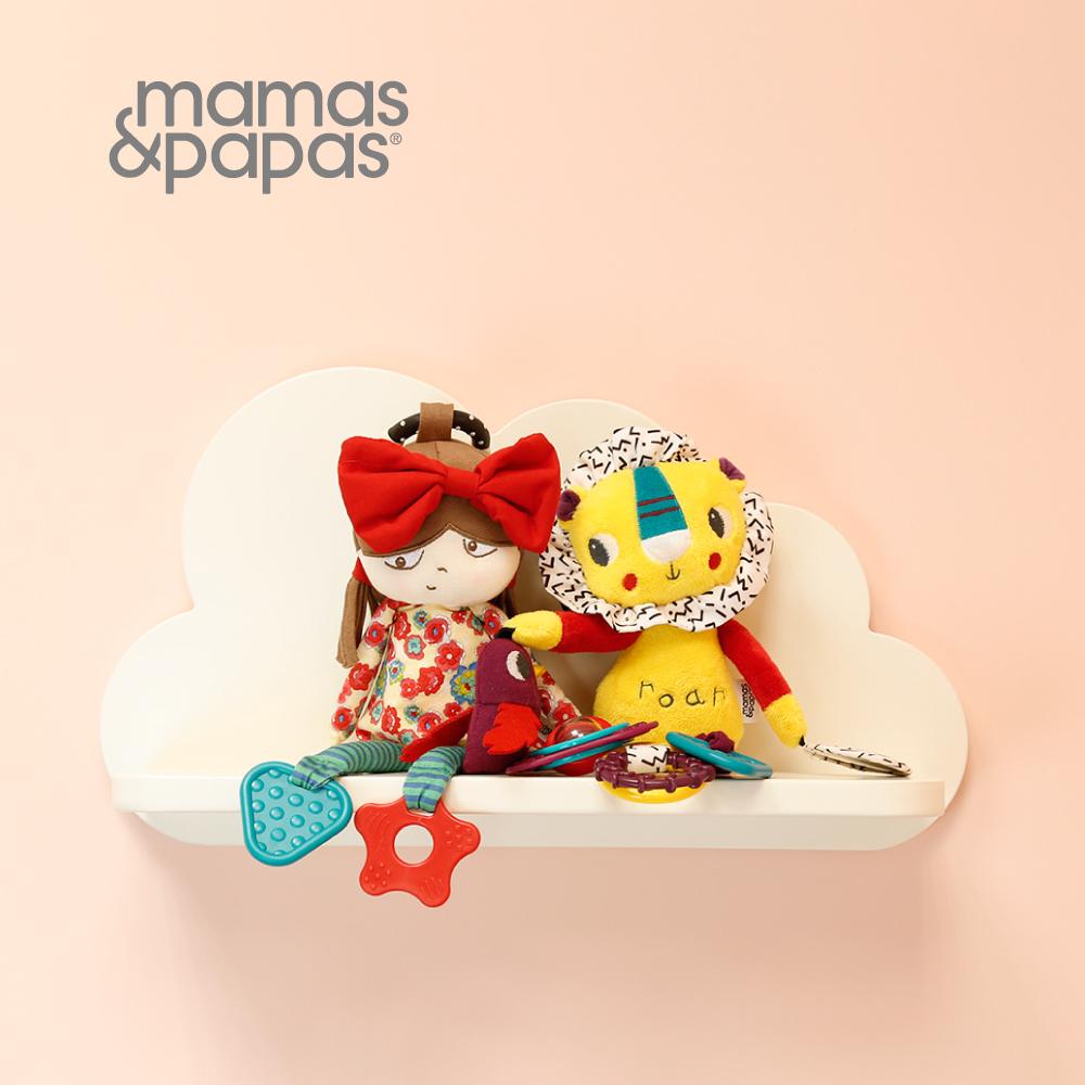 【Mamas & Papas】朵莉娃娃(搖鈴吊飾玩偶)