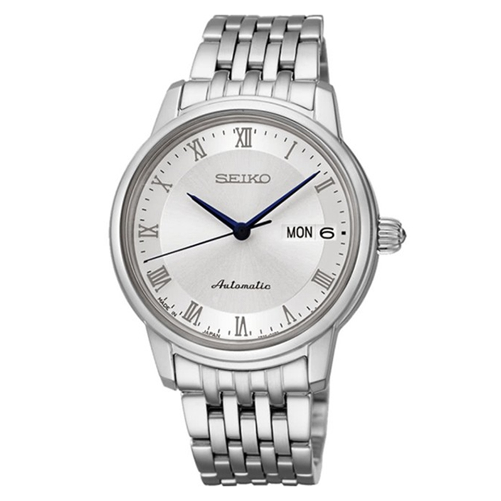 SEIKO 精工Presage 簡約機械腕錶-女(4R36-04F0S/SRP887J1)