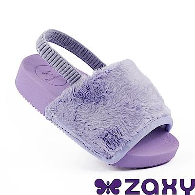 Zaxy 巴西 童魅力甜心 涼鞋-紫色