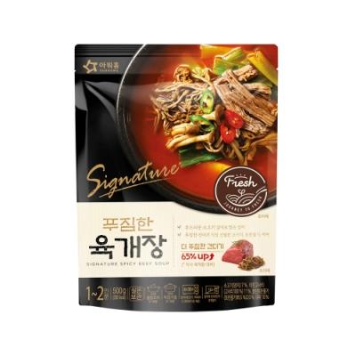 韓味不二【韓國原裝】頂級辣牛肉湯 (500g)
