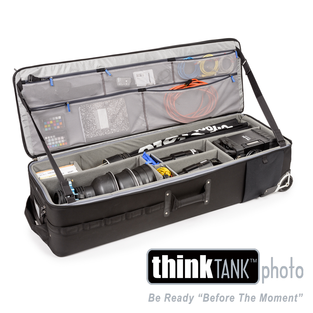 ThinkTank創意坦-50吋滾輪式大型燈具行李箱-PM579