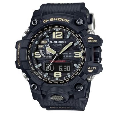 CASIO G-SHOCK/強悍有力征服電波動運腕錶/GWG-1000-1ADR