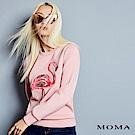 MOMA 紅鶴電繡衛衣
