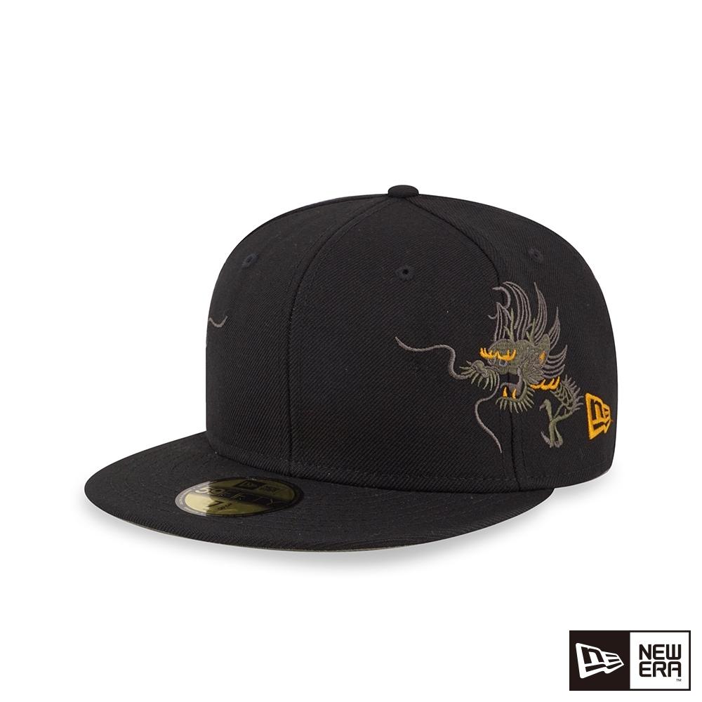 NEW ERA 59FIFTY 5950 橫須賀 龍 黑 棒球帽