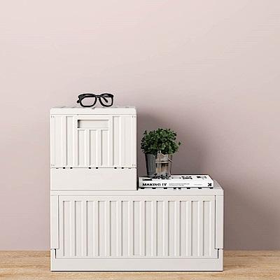【樹德 livinbox】CARGO二分之一貨櫃收納椅 FB-3232