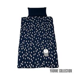 Yvonne Collection 貓頭鷹兩用睡袋- 深藍