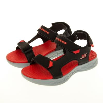 SKECHERS 男童涼拖鞋系列 ON THE GO 600 - 400054LBKRD