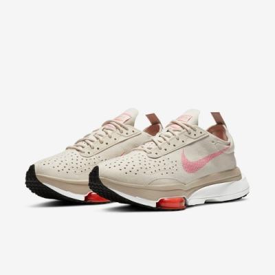 Nike 休閒鞋 Air Zoom Type 運動 女鞋 氣墊 舒適 避震 簡約 球鞋 穿搭 米白 粉 CZ1151100