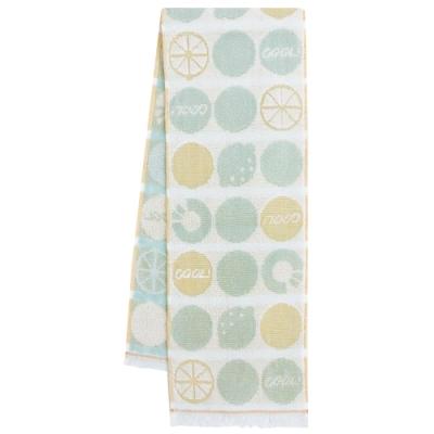 日本丸真 Eco de COOL 涼感運動毛巾 熱帶水果綠