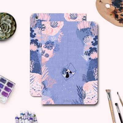 漁夫原創- iPad保護殼 Air3(2019) 軟殼 - 紫珊瑚