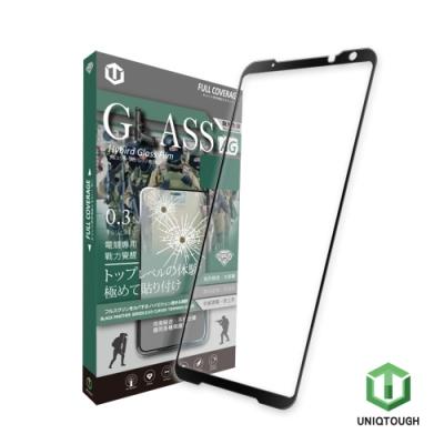 UNIQTOUGH ASUS ROG Phone II ZS660KL 酷玩霧面9H鋼化膜