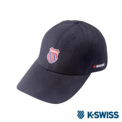 K-SWISS Baseball Caps時尚棒球帽-黑
