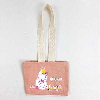Moomin 飲料提袋(粉色)