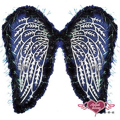 黑天使翅膀 閃亮角色扮演派對道具配件(黑F) AngelHoney天使霓裳