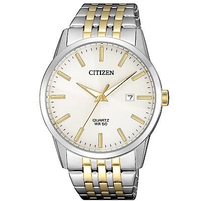 CITIZEN 大方風格石英腕錶(BI5006-81P)