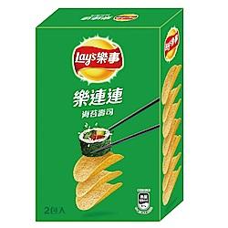 樂事 新經濟包海苔壽司洋芋片(96g)