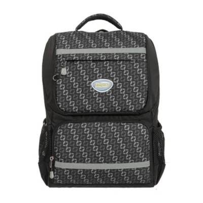 【IMPACT】怡寶輕量護脊書包-炫彩菱紋系列-黑色 IM00368BK