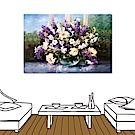 橙品油畫布 - 單聯花卉無框圖畫藝術家飾品- 朝氣 40x60cm