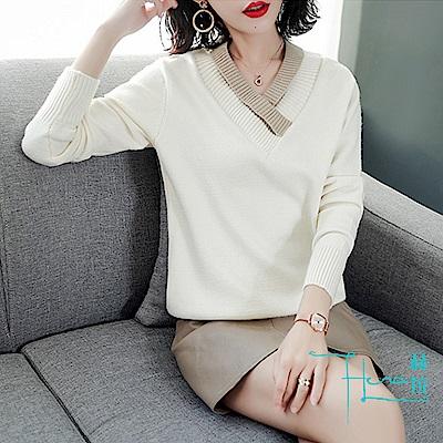 Hera 赫拉 毛衣長袖短款修身針織衫(4色)