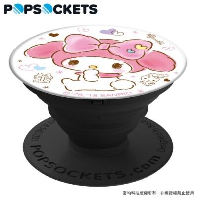 PopSockets 泡泡騷 美國 No.1 時尚手機支架-美樂蒂-禮物驚喜