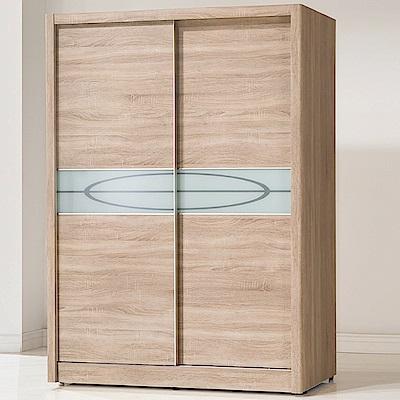 AS-傑森橡木紋5x7尺衣櫃-142x60x200cm