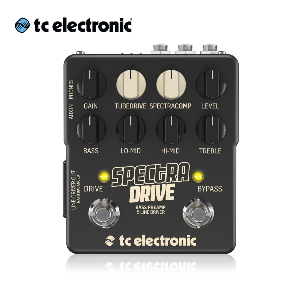tc electronic SpectraDrive 貝斯前級效果器