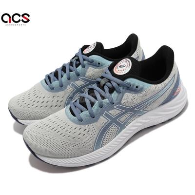 Asics 慢跑鞋 GEL Excite 8 運動休閒 男鞋 亞瑟士 支撐 輕量 緩衝 亞瑟膠 灰 藍 1011B311960