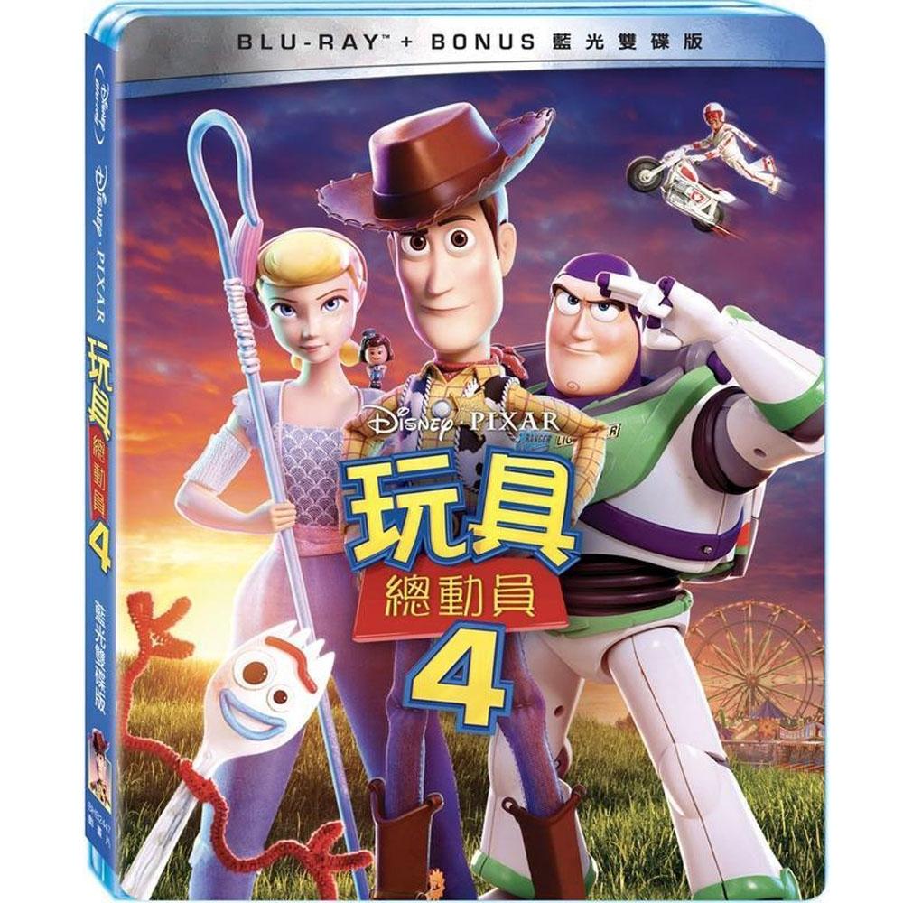 玩具總動員 4 BD+Bonus 雙碟版  藍光 BD