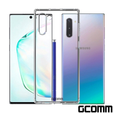GCOMM Galaxy Note 10 清透圓角防滑邊保護套 Round Edge
