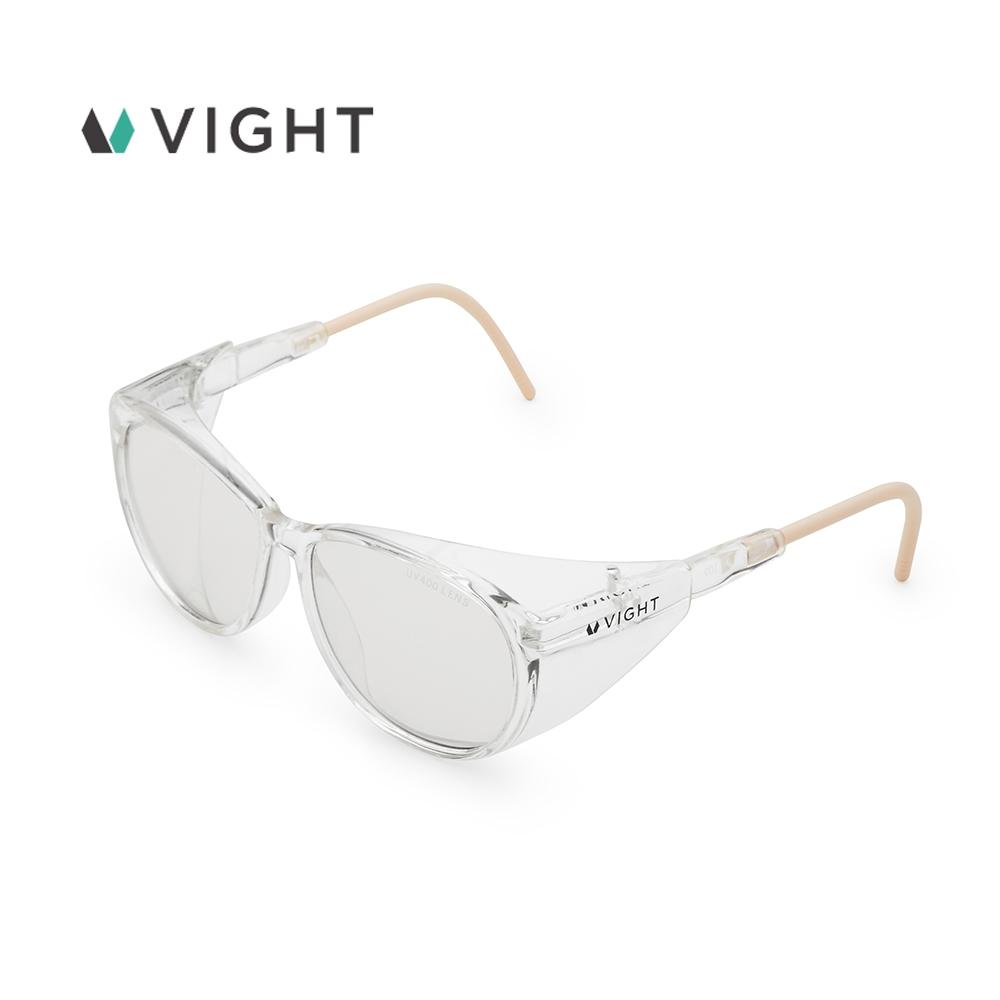 VIGHT台灣製全方位護目鏡 防風沙 防口沫 防UV 防霧鏡片 -M (快速到貨)