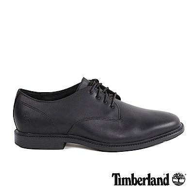 Timberland 男款黑色牛津休閒鞋|A1KC9