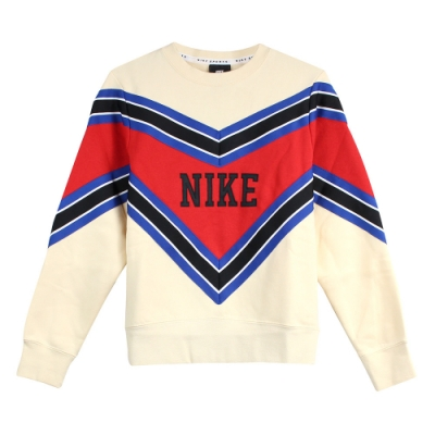 Nike 女 AS W NSW NSP CREW FLC 圓領T(長)