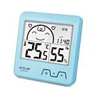 Dr.AV 日式超大螢幕溫濕度計(GM-851)藍