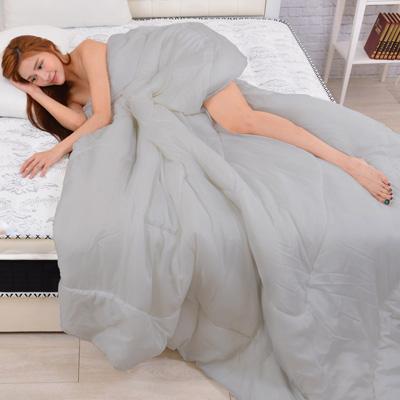 LooCa 發熱紗蓄熱科技保暖纖維冬被2入