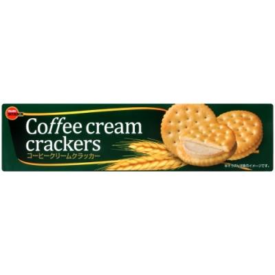 Bourbon北日本 咖啡奶油風味夾心餅乾(80.4g)