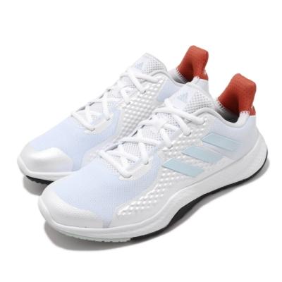 adidas 訓練鞋 FitBounce Trainer 女鞋 愛迪達 健身房 重訓 減震 保護 白 藍 EE4618