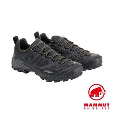 【Mammut 長毛象】Ducan Low GTX 低筒登山鞋 男 黑 #3030-03520