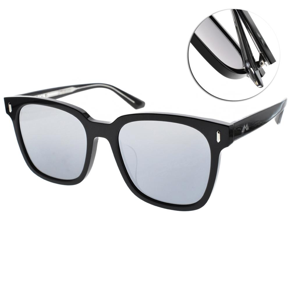 MOLSION偏光水銀太陽眼鏡 Angelababy代言/黑 #MS3002 D11
