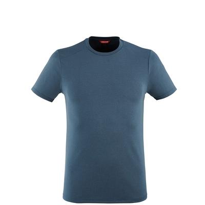 LAFUMA 男 SHIELD 防蚊快排短袖上衣 深藍-LFV117538598