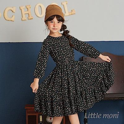 Little moni 印花洋裝(2色可選)