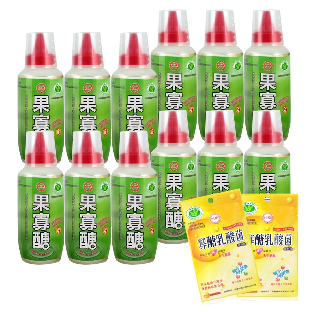 台糖 果寡醣x12瓶(贈寡醣乳酸菌便利袋x2) @ Y!購物