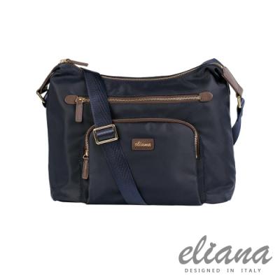 eliana - BREEZE系列休閒斜背包 - 魅力藍