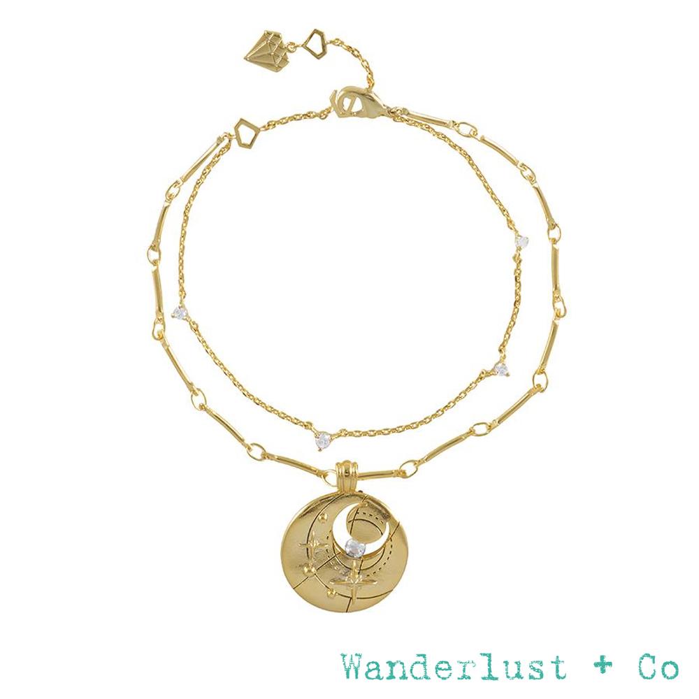 Wanderlust+Co 生日石系列 BIRTHSTONE手鍊 四月April