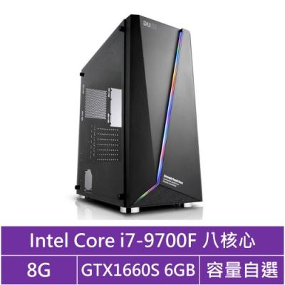 技嘉H310平台[火雲妖狐]i7八核GTX1660S獨顯電腦